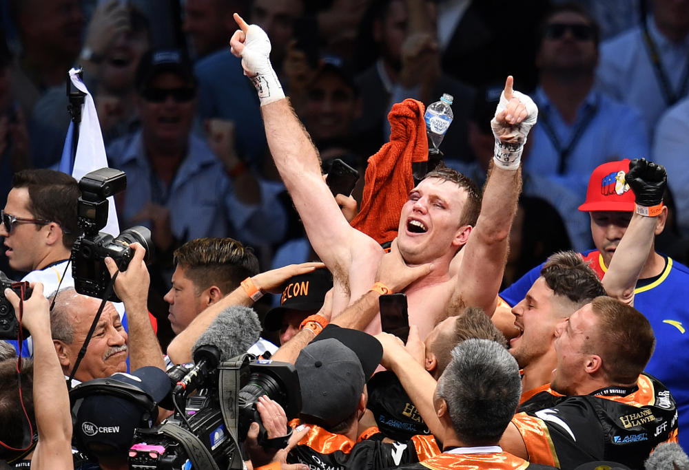 Jeff Horn wins Boxing 2017