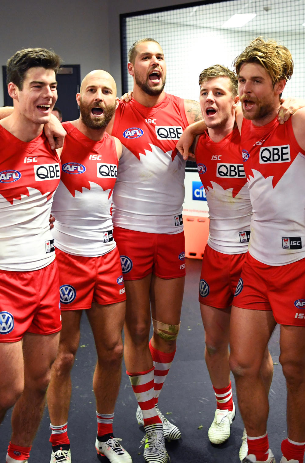Lance Franklin Sydney Swans AFL 2017 tall