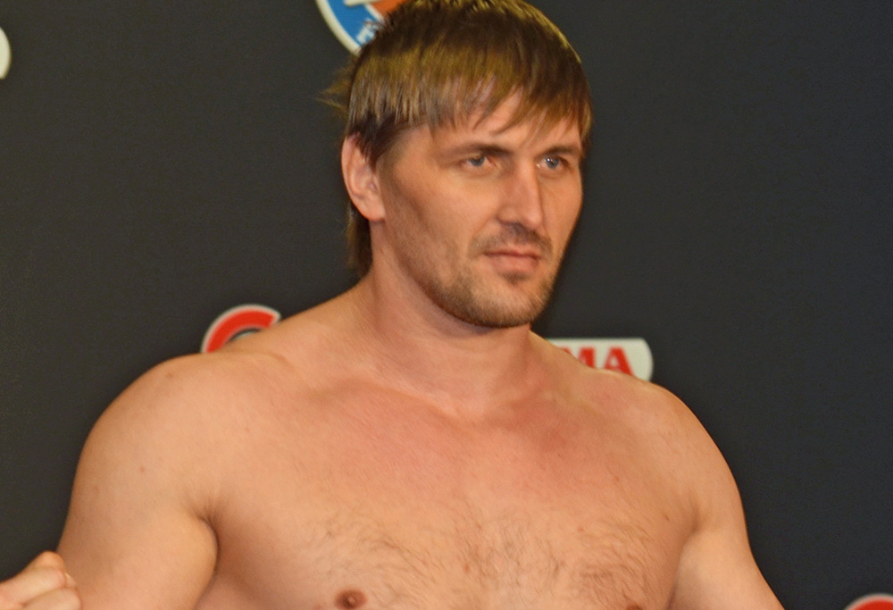 Vitaly Minakov, the star of Bellator MMA By Mike Searson at English Wikipedia, CC BY-SA 3.0.