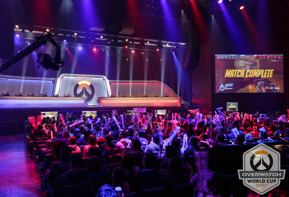Overwatch World Cup Stage