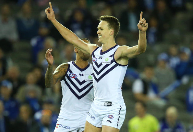 Ryan Nyhuis Fremantle Dockers AFL 2017