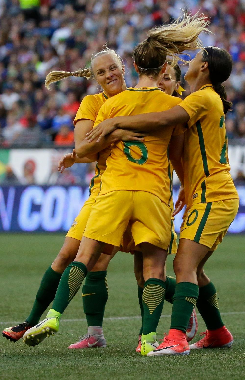 Tameka Butt Matildas Australia Football 2017 tall