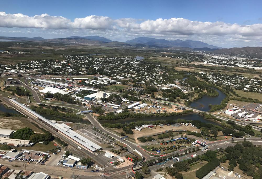Townsville 400 street circuit