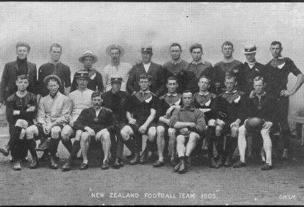 1905-06 all blacks team
