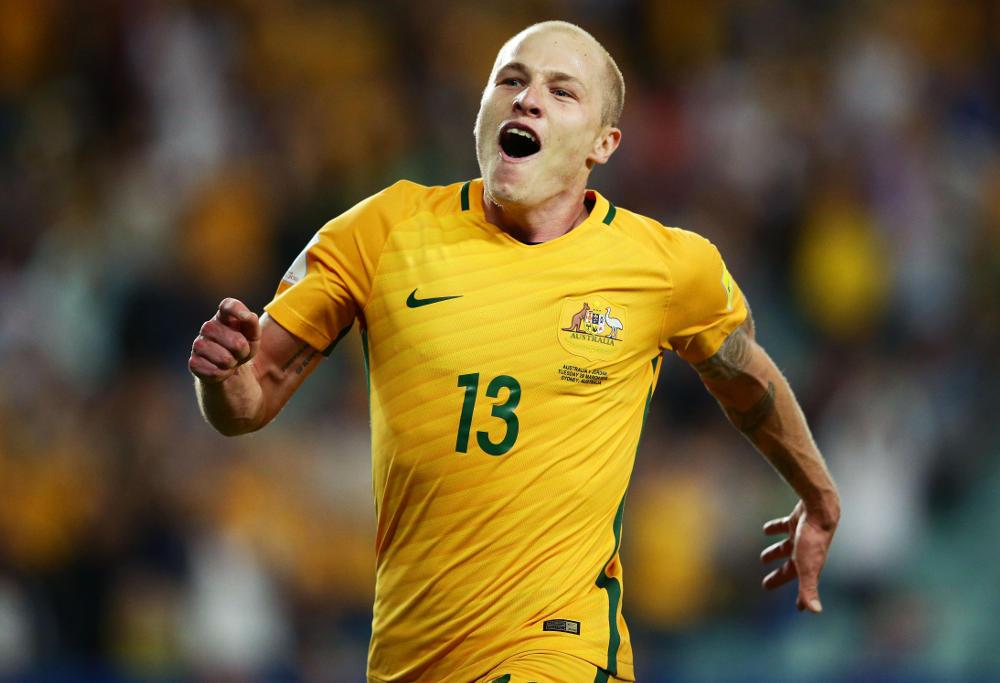 Aaron Mooy Football Australia Socceroos 2017