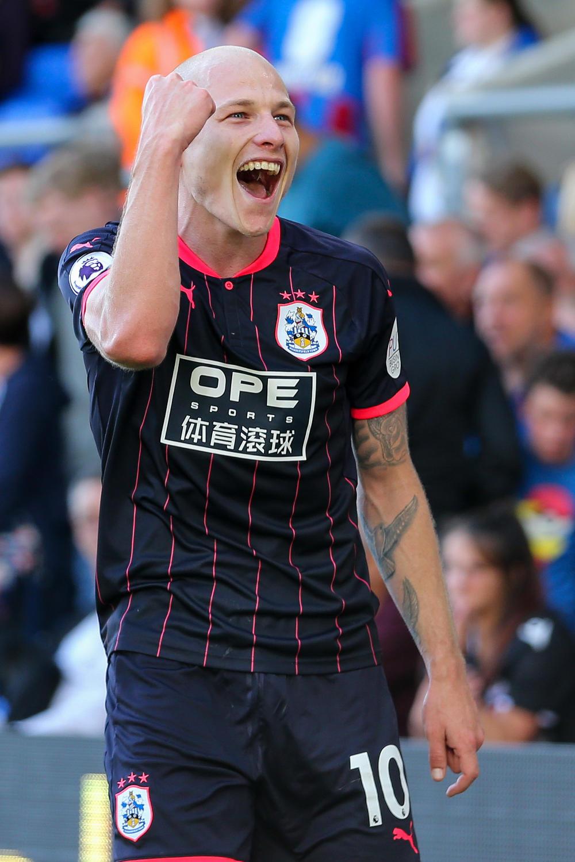 Aaron Mooy Huddersfield Town Premier League EPL Football 2017 tall