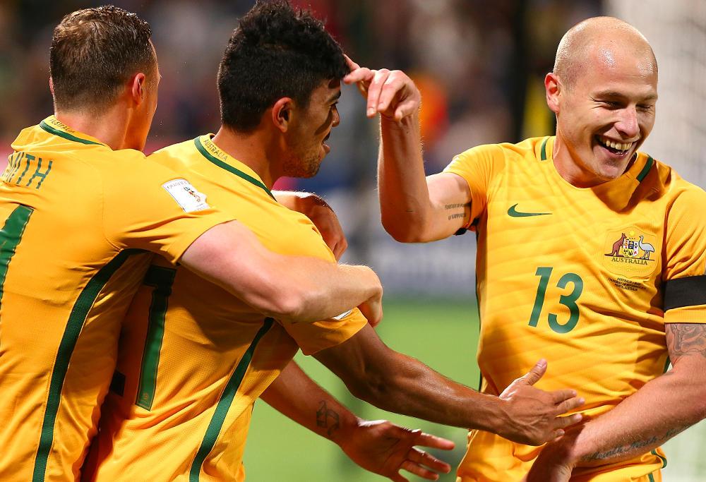 Aaron Mooy Socceroos Australia Football 2017