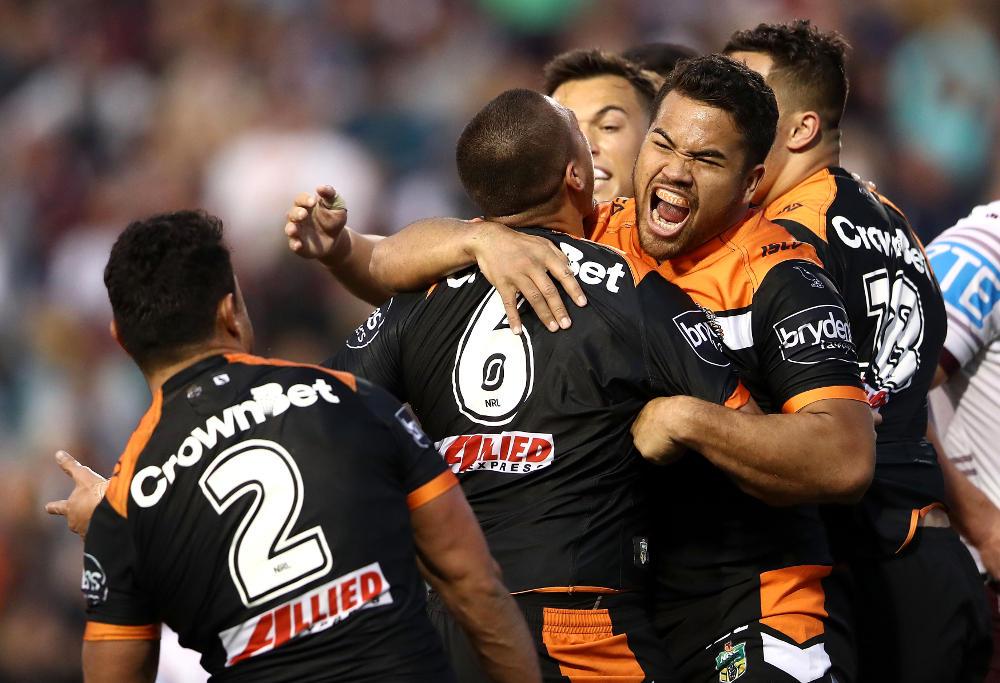 Esan Marsters Wests Tigers NRL Rugby League 2017