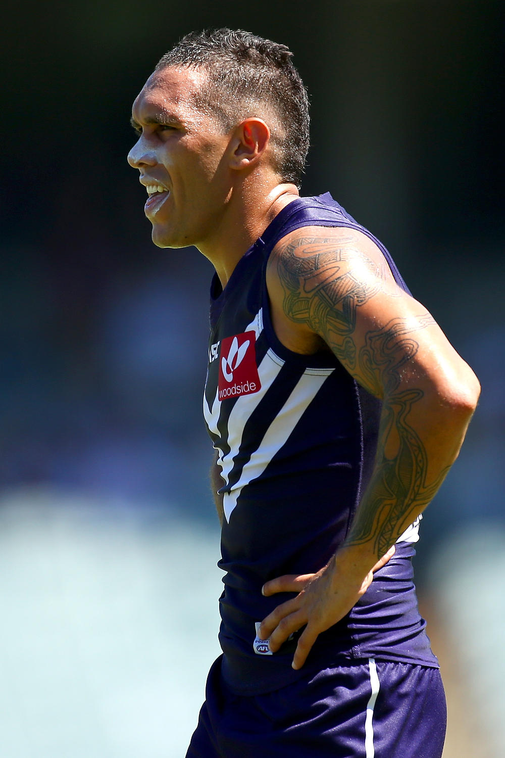 Harley Bennell Fremantle Dockers AFL 2016 tall