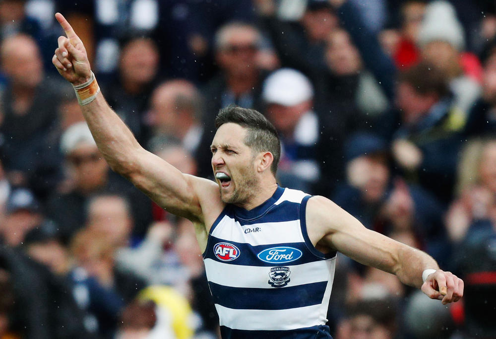 Harry Taylor Geelong Cats AFL 2017