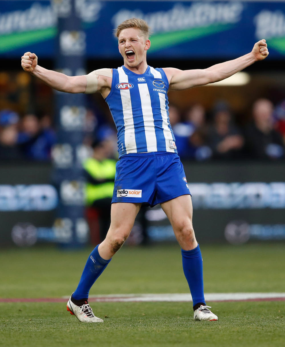 Jack Ziebell North Melbourne Kangaroos AFL 2017 tall