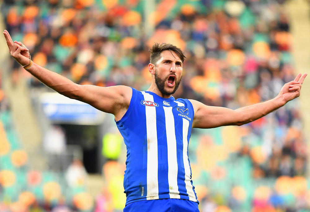 Jarrad Waite North Melbourne Kangaroos AFL 2017