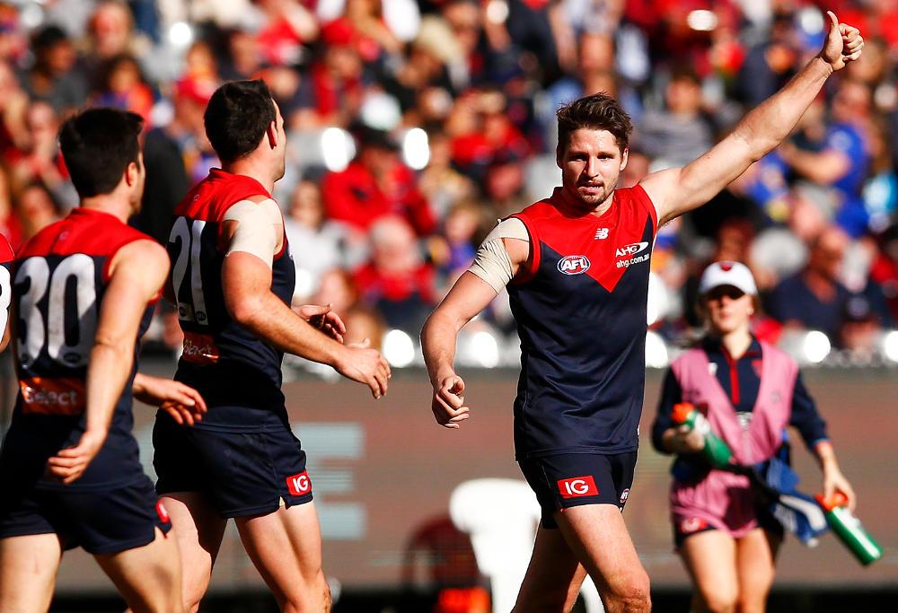 Jesse Hogan Melbourne Demons AFL 2017