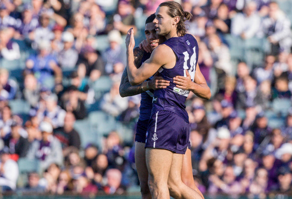 Lachie Weller Fremantle Dockers AFL 2017