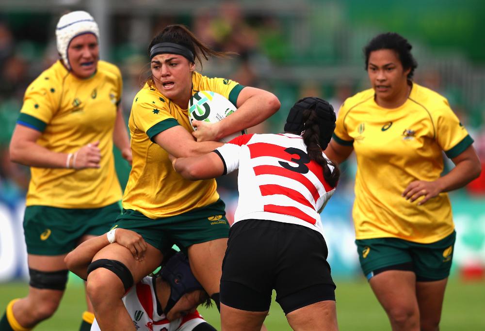 Millie Boyle Australia Rugby Union Wallaroos 2017