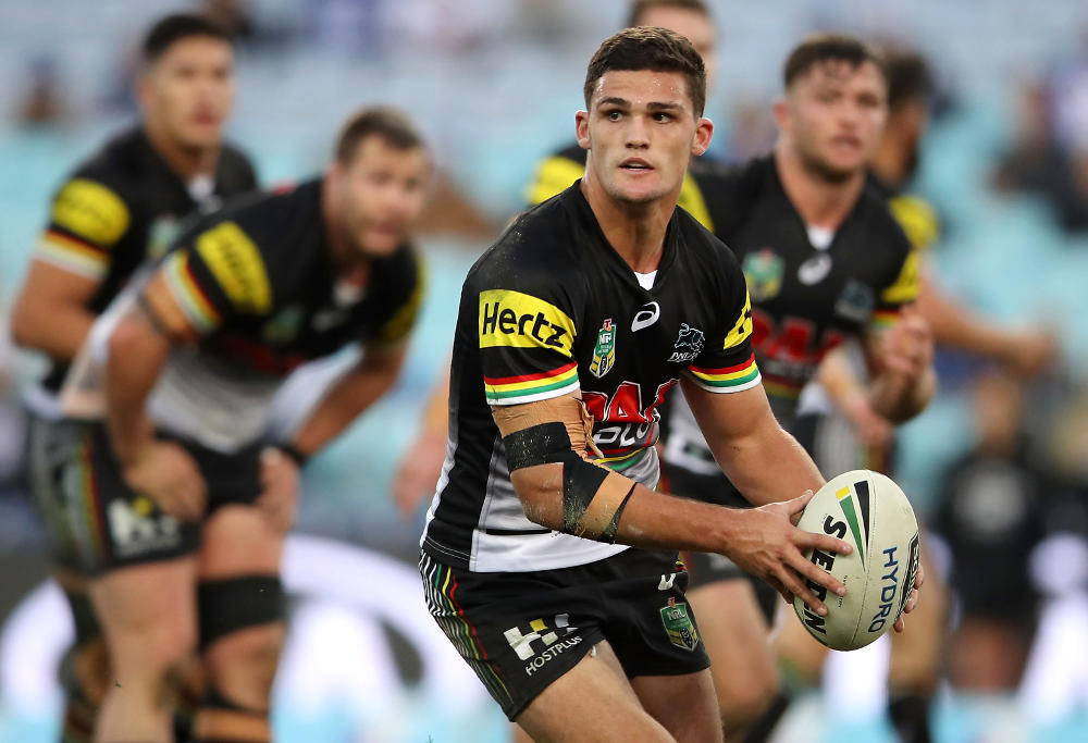 Nathan Cleary Penrith Panthers NRL Rugby League 2017