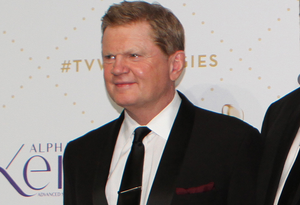 Paul Fatty Vautin at the Logies for the Footy Show