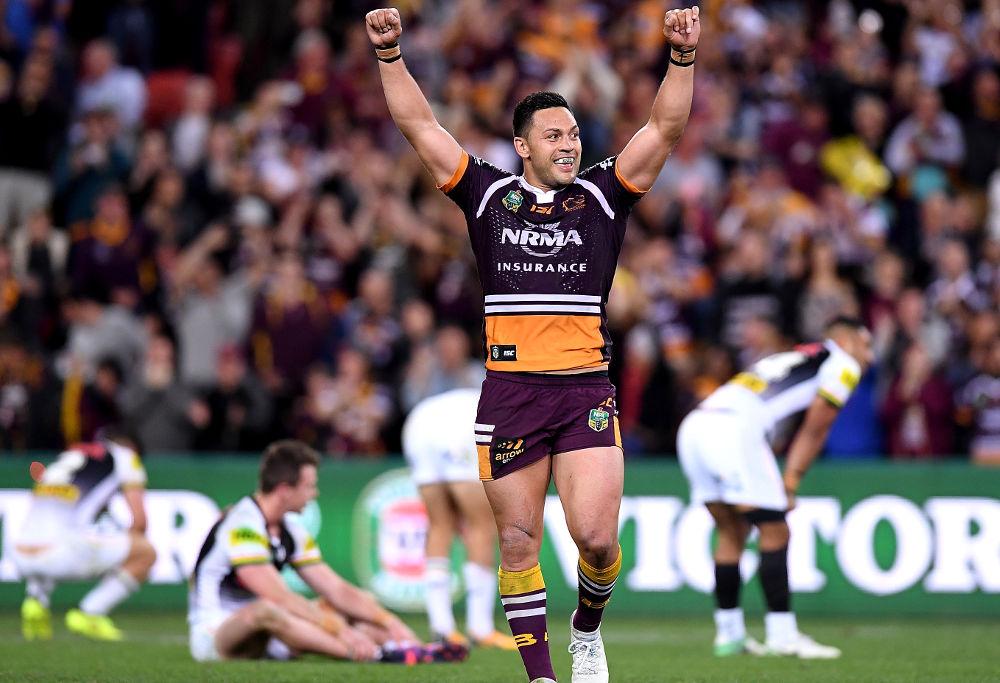 Alex Glenn Brisbane Broncos NRL Rugby League 2017 Finals