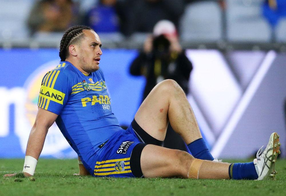 Brad Takairangi Parramatta Eels NRL Rugby League Finals 2017