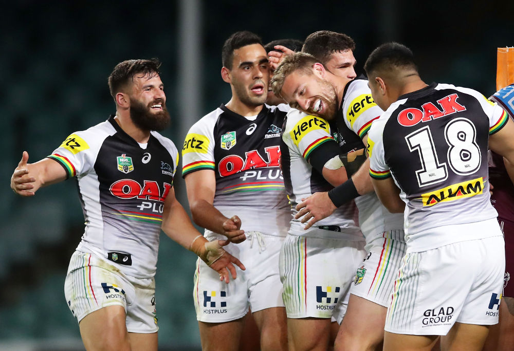 Bryce Cartwright Penrith Panthers NRL Rugby League Finals 2017