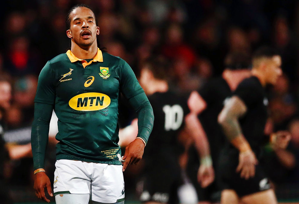 Courtnall Skosan South Africa Rugby Union Springboks 2017