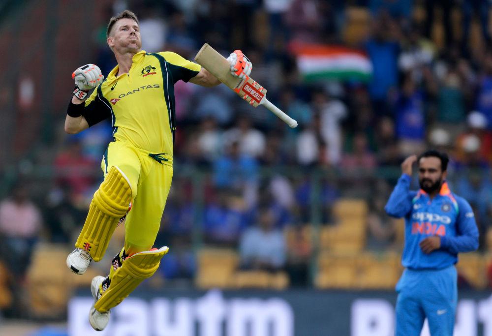 David Warner Australia ODI Cricket 2017