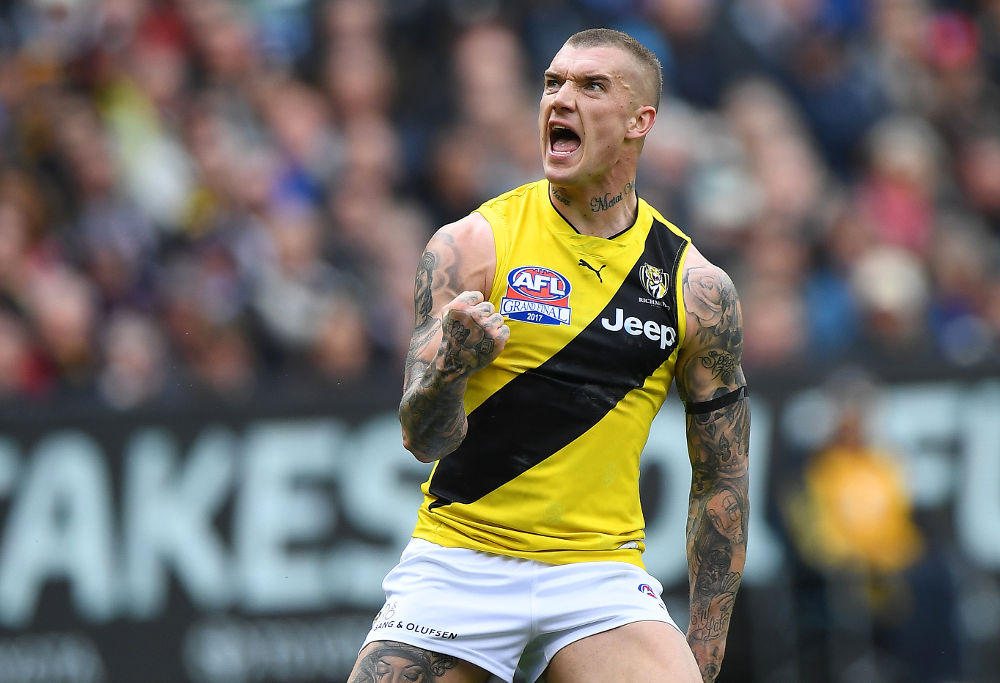 Dustin Martin Richmond Tigers AFL Grand Final 2017