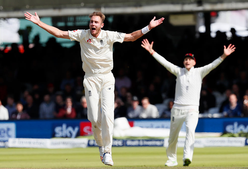 England's Stuart Broad and Joe Root appeal unsuccessfully