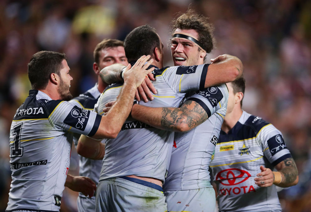 Ethan Lowe North Queensland Cowboys NRL Finals Rugby League 2017