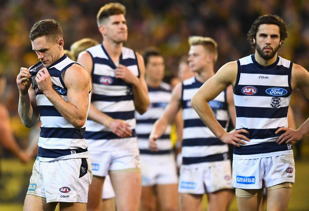 Joel Selwood Geelong Cats AFL 2017