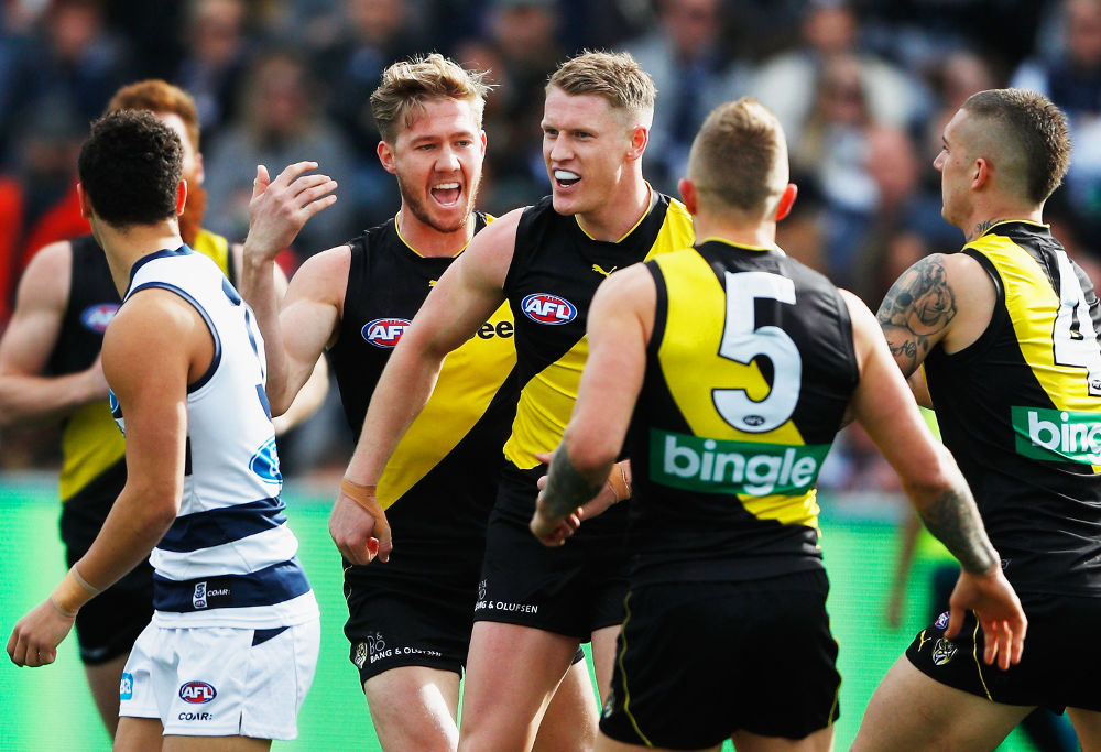 Josh Caddy Richmond Tigers AFL 2017