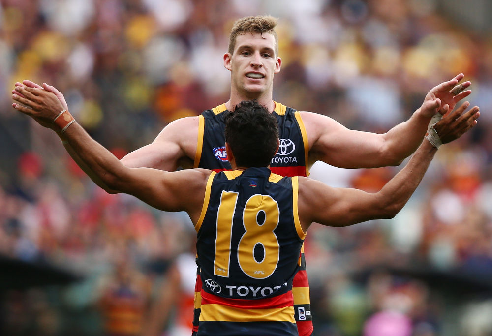 Josh Jenkins Adelaide Crows AFL 2017