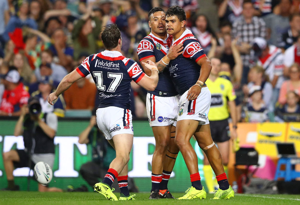 Latrell Mitchell Sydney Roosters NRL Rugby League Finals 2017