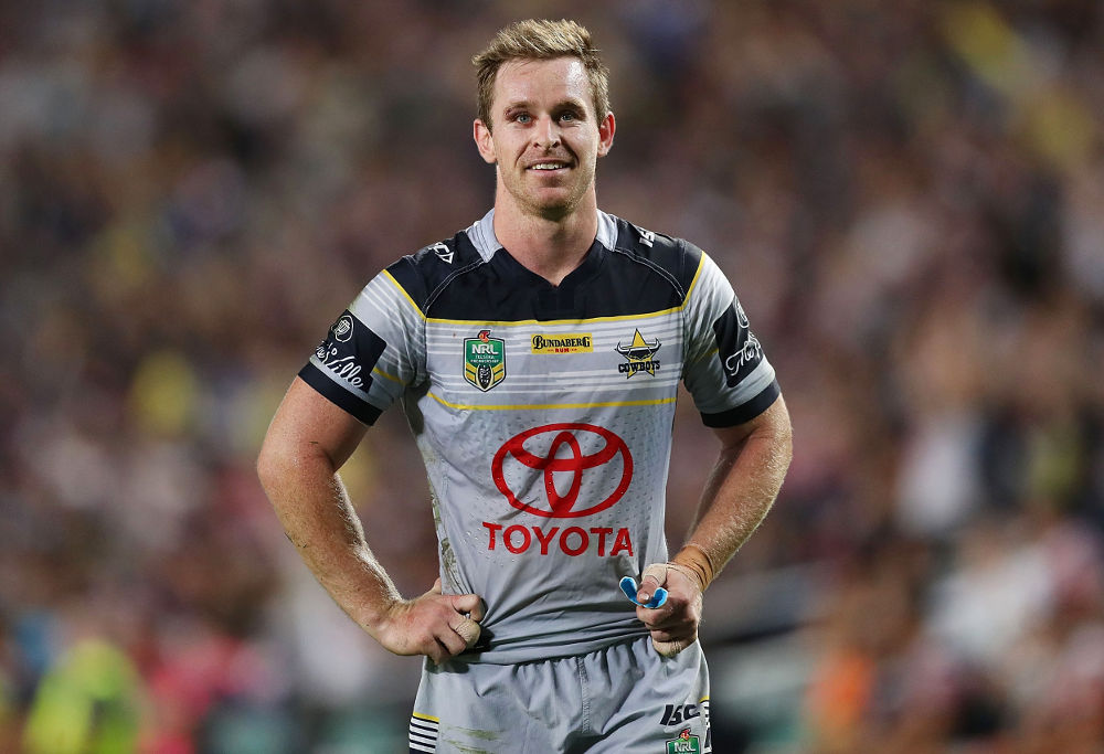Michael Morgan NRL Finals North Queensland Cowboys Rugby League 2017