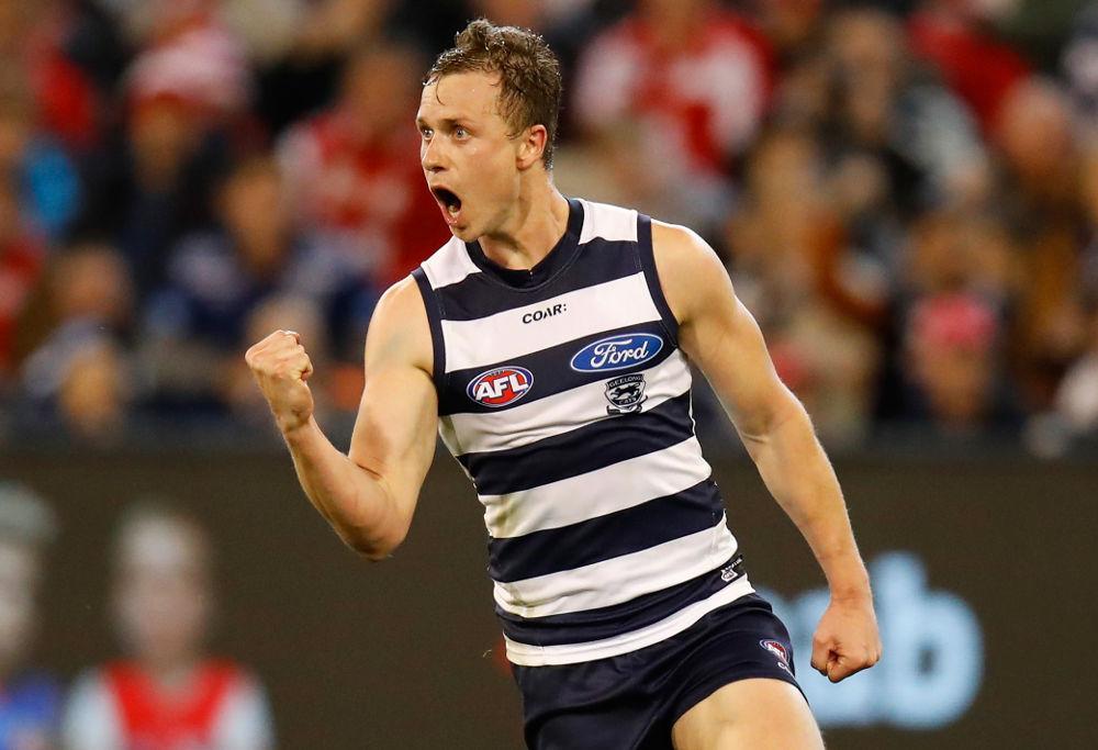 Mitch Duncan Geelong Cats AFL 2017
