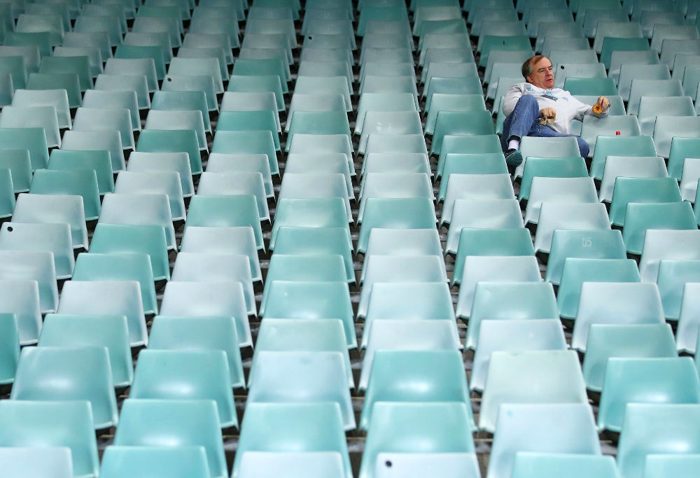 NRL Finals empty seats