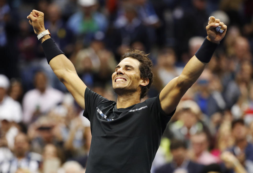 Nadal beats Anderson US Open.