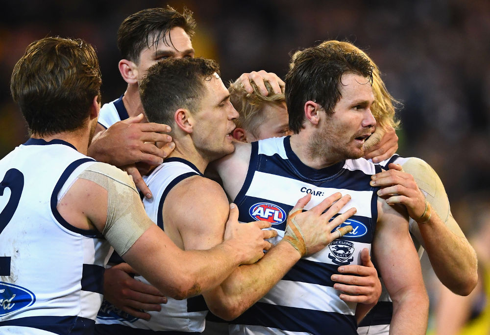 Patrick Dangerfield Geelong Cats AFL 2017