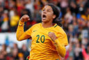 Matildas do the double over Brazil in Newcastle