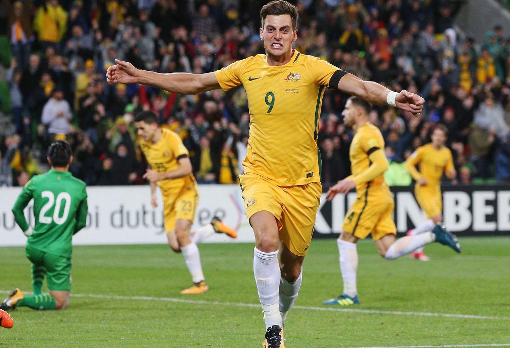 Tomi Juric Australia Football Socceroos 2017