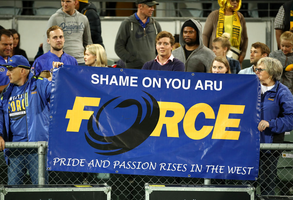 Western Force Protest