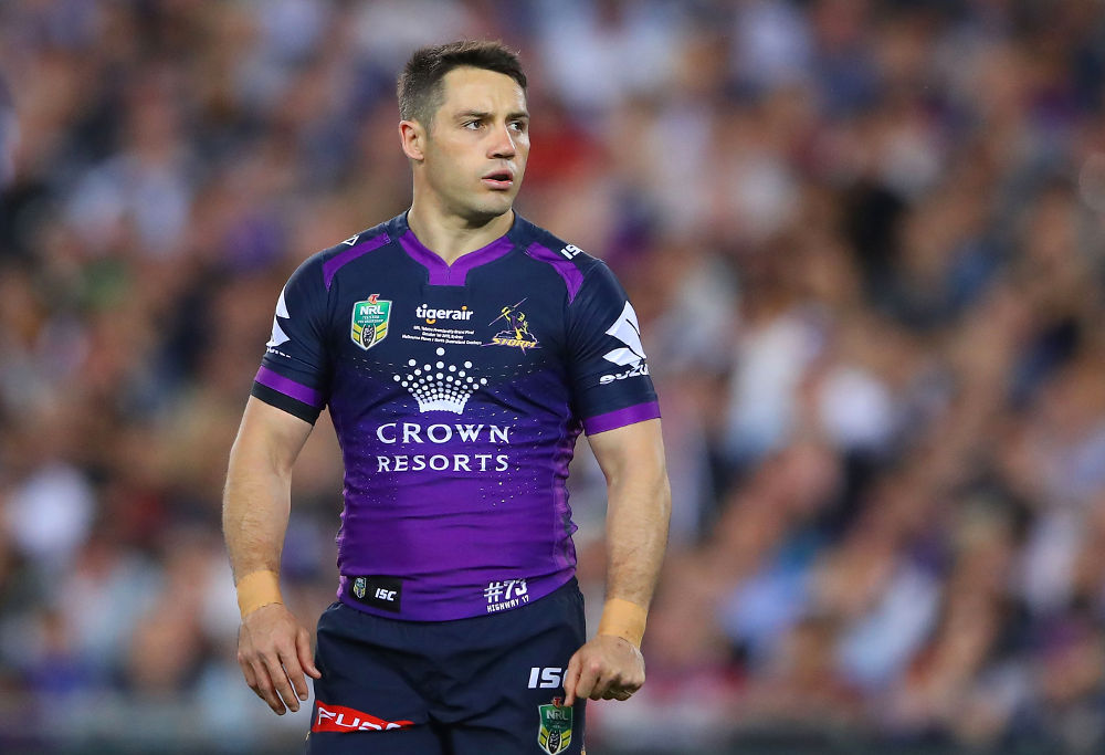 Cooper Cronk Melbourne Storm NRL Rugby League