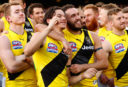 Daniel Rioli Shaun Grigg <br /> <a href='http://www.theroar.com.au/2017/10/10/destruction-tour-tigers-eviscerated-rest-afl-everything-thought-knew/'>Destruction Tour: How the Tigers eviscerated the rest of the AFL and everything we thought we knew</a>