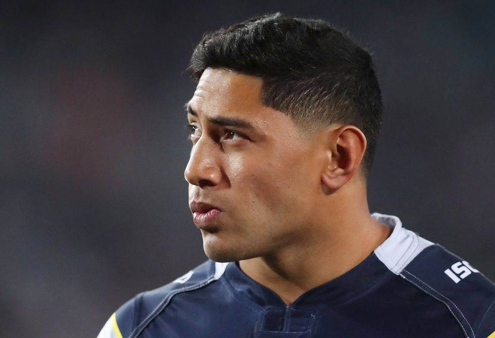 Jason Taumalolo North Queensland Cowboys NRL Rugby League Grand Final 2017