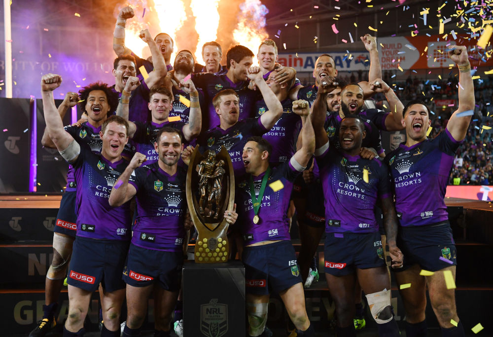 Melbourne Storm NRL Rugby League Grand Final 2017