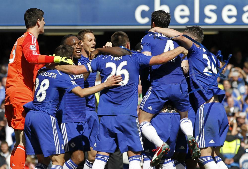 Chelsea in the 2009/10 Premier League