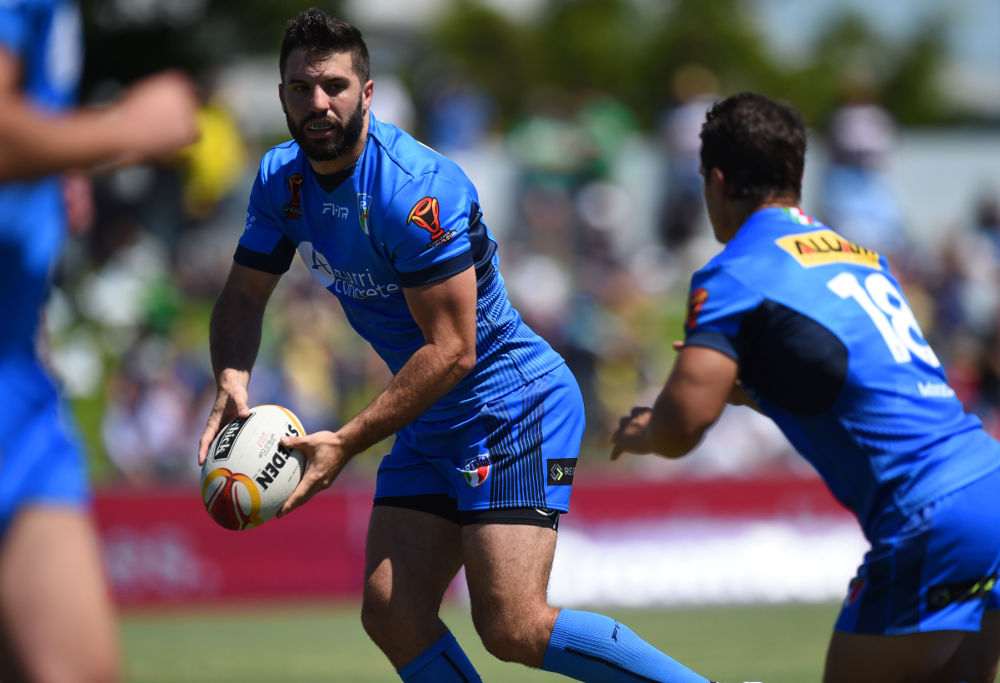 James Tedesco Italy Rugby League World Cup 2017