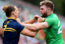 Ireland coach fumes at Nat Fyfe forearm