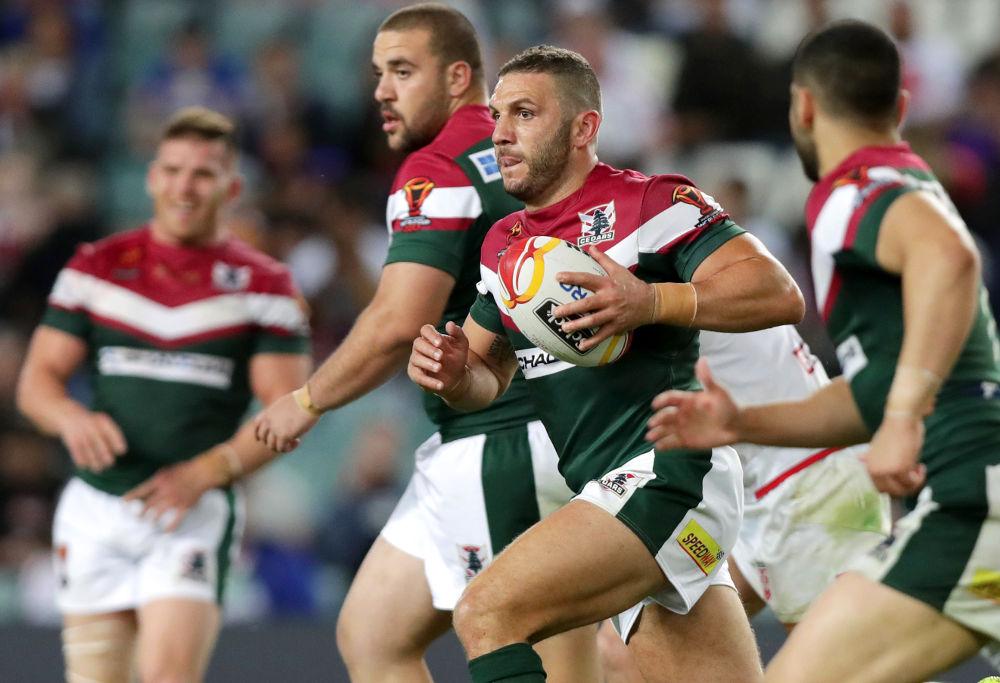 Robbie Farah Lebanon Rugby League World Cup 2017