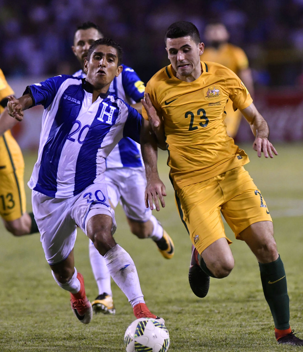 Tom Rogic Socceroos tall